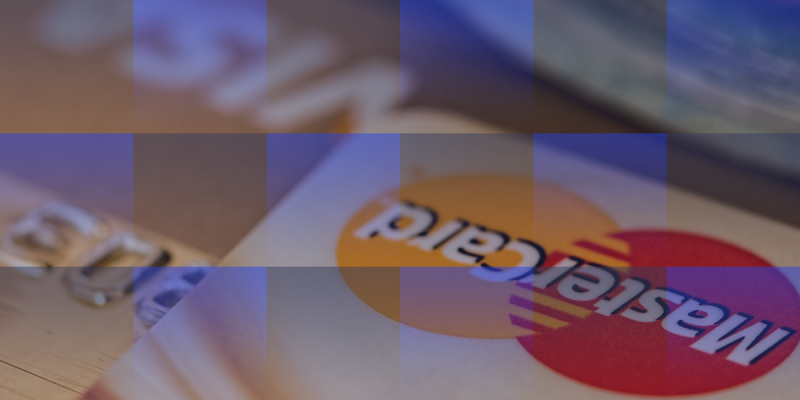 image of credit cards implying debt